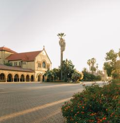 Memorial Church on Stanford Campus